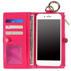 2 In 1 Detachable Wallet Case For iPhone Samsung
