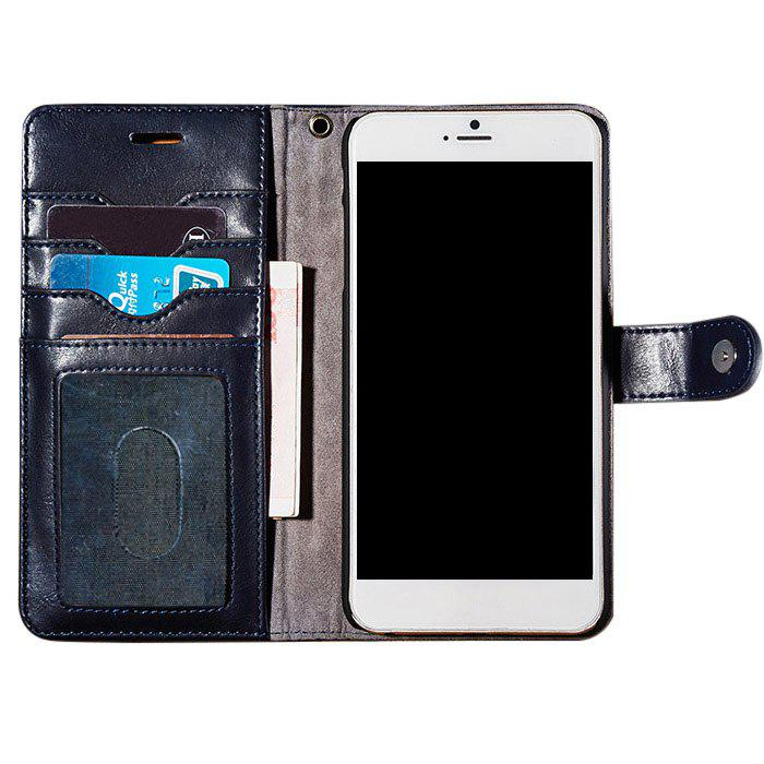 Cheap Faux Leather Flip Wallet Case with Card Slot For iPhone