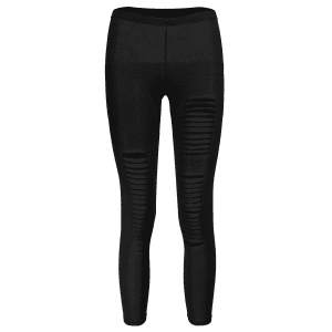 New Sexy Ripped Torn Slashed Leggings Punk Low Rise - BLACK ONE SIZE