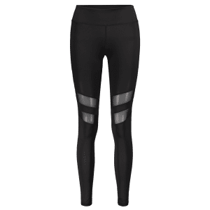 Mesh Panel Sporty Running Leggings -
