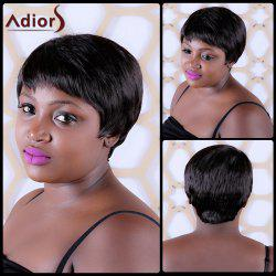 Skilful Short Full Bang Straight Synthetic Capless Wig