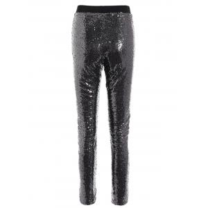 Shiny Sequins Pants -