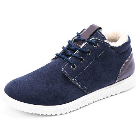 Outfit Suede Warm Lining Skate Shoes