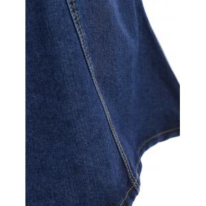 Knee Length Jean Skirt -