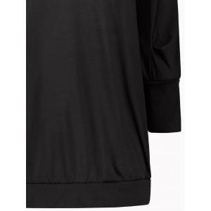 Long Sleeve Short Tunic T-shirt Dress -