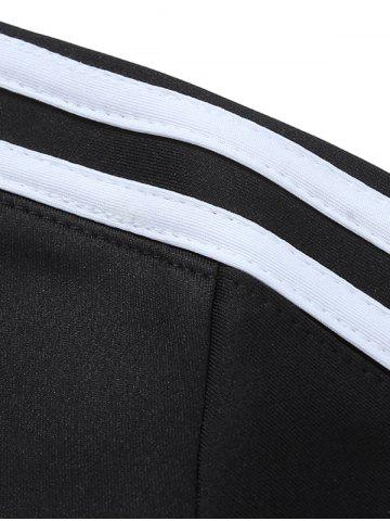 New Zip Up Striped Jacket Twinset - 3XL CADETBLUE Mobile