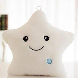 Star Shape Variable Color Luminescence Pillow