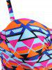 Plus Size Cut Out Fringed Swimwear -