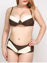 Plus Size Push Up Bikini Set