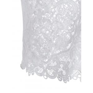 Sheer Lace Cami Top -