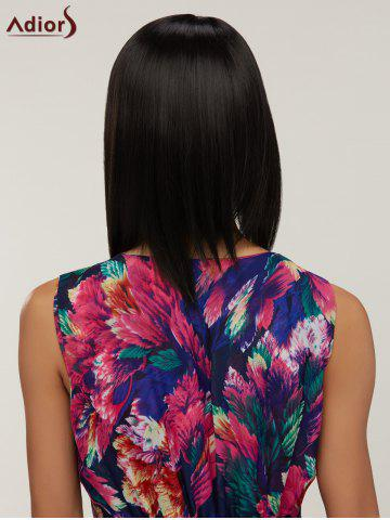Straight Heat Resistant Side Bang Bob Synthetic Wig For Women от Rosegal.com INT