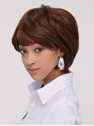 Fluffy Straight Capless Short Synthetic Wig