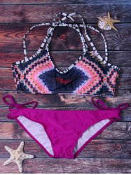 Women's Sexy Colormix Bikini Set Swimwear