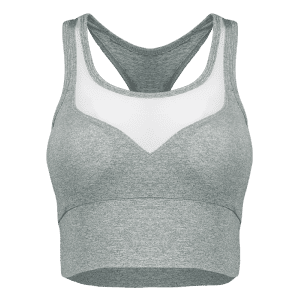 Casual Yarn Patch Sport Racerback Tanks -