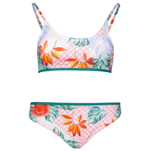 Cami Printed Bikini Set - GREEN XL