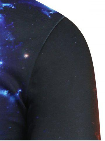 Sale Fist Print Galaxy Tee - 2XL COLORMIX Mobile
