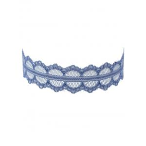 Lace Wide Adjustable Choker Necklace