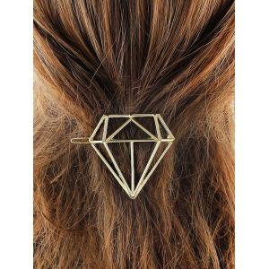 Diamond Shape Hollow Out Hairpin
