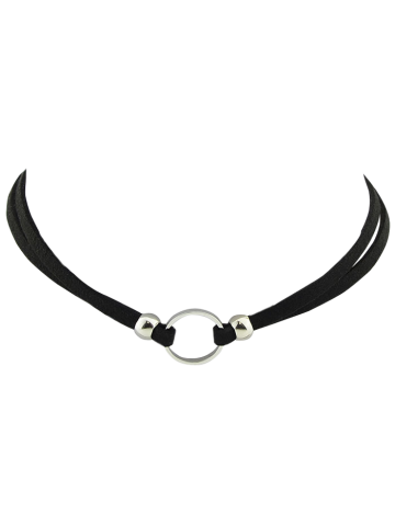 Online Punk Style Faux Leather Round Choker