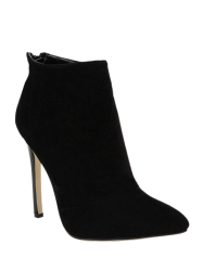 Pointed Toe Stiletto Heel Ankle Boots