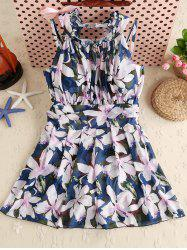 Floral Padded One Piece Swimwear