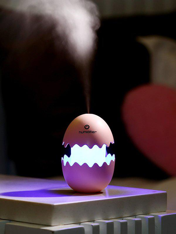 Egg Cartoon USB Spray Fogger Diffuser LED Light Air HumidifierHOME<br><br>Color: PEACH PINK; Style: Modern/Contemporary; Categories: Gadgets; Material: Other,Plastic; Voltage(V): 5V; Power (W): 1.5W; Size(CM): 8?L?*8?W?*12?H?CM; Weight: 0.1880kg; Package Contents: 1 x Humidifier Light 1 x USB Cable;