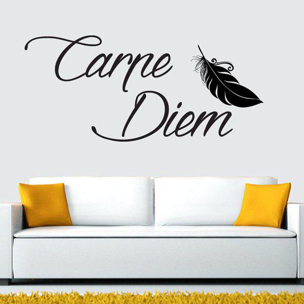 Letters Wall StickerHOME<br><br>Color: GUN METAL; Wall Sticker Type: Plane Wall Stickers; Functions: Decorative Wall Stickers; Theme: Words/Quotes; Material: Acrylic,PVC; Feature: Removable,Washable; Size(L*W)(CM): 70*50; Weight: 0.2500kg; Package Contents: 1 x Wall Sticker;