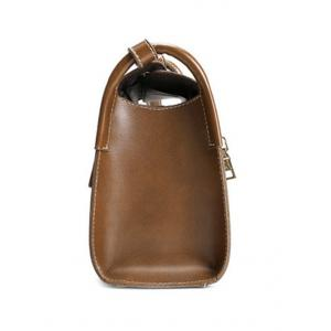 Vintage Stitching and Buckle Design Crossbody Bag For Women -