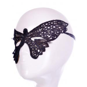 Masque Faux dentelle Papillon Bandeau Party -
