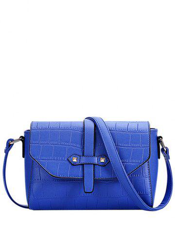 Shops Trendy Crocodile Pattern and PU Leather Design Crossbody Bag For Women