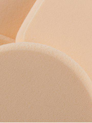 Shop Water Swellable Face Powder Puffs - APRICOT  Mobile