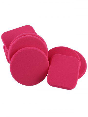 Fancy Water Swellable Face Powder Puffs - ROSE MADDER  Mobile