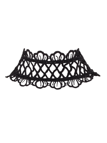 Fashion Crown Lace Choker Necklace