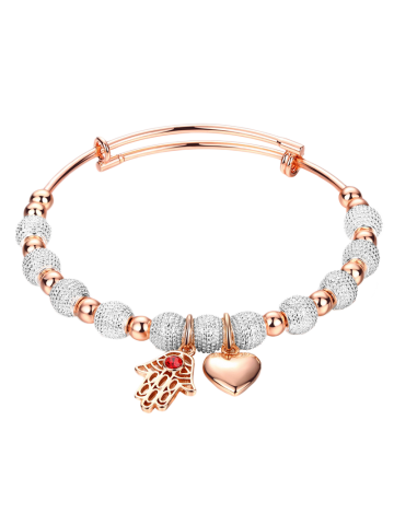 Latest Palm Heart Beads Charm Bracelet