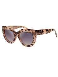 Élégant Trendsetter Cat Eye Sunglasses - Léopard