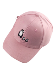 Casual Sunscreen Penguin Embroidery Baseball Hat -