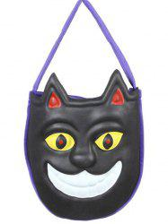 Mask Pattern Color Block Halloween Bag