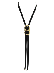 Adjustable Overlapping Buckle Necklace