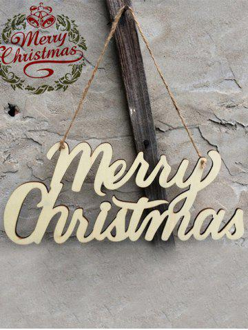 Best Wooden Merry Christmas Letter Hangers Party Decoration - WOOD  Mobile