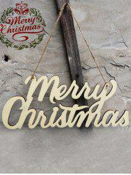Wooden Merry Christmas Letter Hangers Party Decoration
