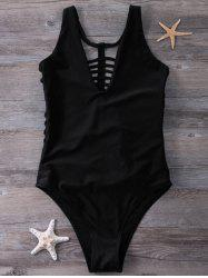 Plunge Strappy One-Piece Swimwear