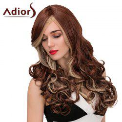 Adiors Highlight Long Side Part Wavy Synthetic Wig