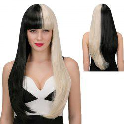 Adiors Long Full Bang Tail Adduction Synthetic Wig