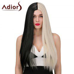 Adiors Long Middle Parting Straight Double Color Synthetic Wig