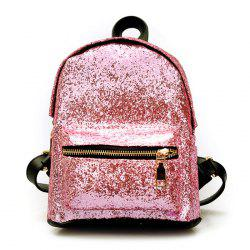 Sequins Glitter Backpack - PINK