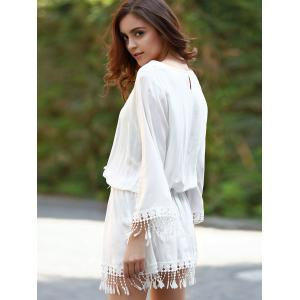 Long Sleeve Beach Cover Up -