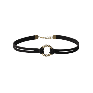 Flower Geometric Chokers - BLACK