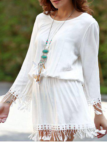Hot Long Sleeve Beach Cover Up