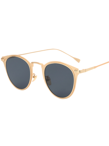 Latest Cool Metal Cat Eye Sunglasses GOLDEN