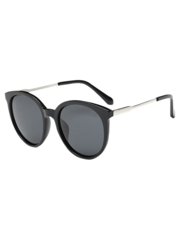 Fashion Metal Leg Cat Eye Sunglasses